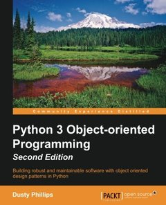 Python 3 Object-Oriented Programming, 2/e (Paperback)-cover