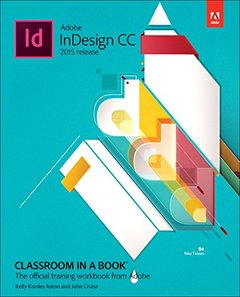 Adobe InDesign CC Classroom in a Book (2015 release) (Paperback)-cover