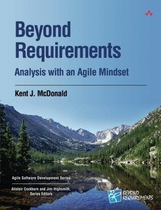 Beyond Requirements: Analysis with an Agile Mindset (Paperback)-cover