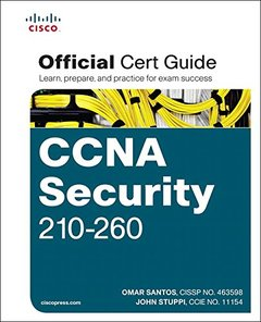 CCNA Security 210-260 Official Cert Guide (Hardcover)-cover