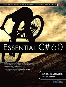 Essential C# 6.0, 5/e (Paperback)-cover