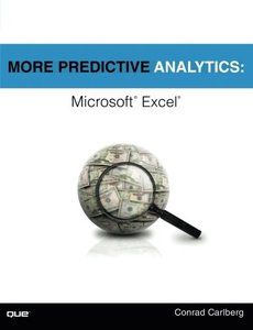 More Predictive Analytics: Microsoft Excel (Paperback)-cover