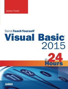 Visual Basic 2015 in 24 Hours, Sams Teach Yourself-cover
