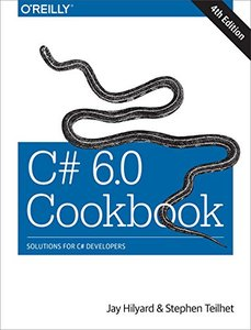C# 6.0 Cookbook, 4/e (Paperback)
