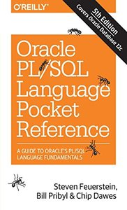 Oracle PL/SQL Language Pocket Reference, 5/e (Paperback)-cover