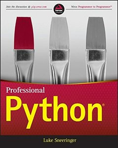 Professional Python (Paperback)-cover