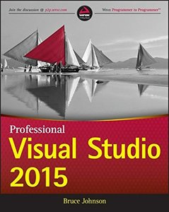 Professional Visual Studio 2015 (Paperback)-cover