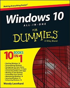 Windows 10 All-in-One For Dummies (Paperback)-cover