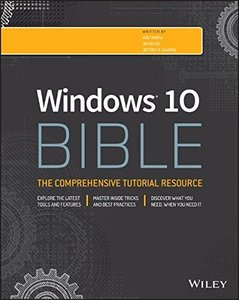 Windows 10 Bible, 2/e (Paperback)-cover