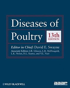 Diseases of Poultry, 13/e (Hardcover)-cover