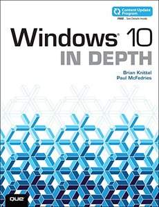 Windows 10 in Depth (Paperback)-cover