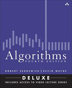 Algorithms, 4/e (Deluxe): Book and 24-Part Lecture Series (Hardcover)(美國原版)-cover