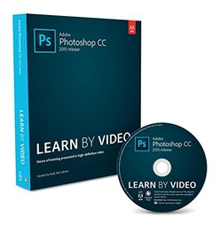 Adobe Photoshop CC (2015 release) Learn by Video (Paperback)-cover