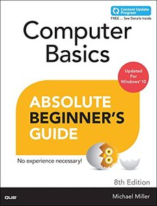 Computer Basics Absolute Beginner's Guide, Windows 10 Edition, 8/e(Paperback)-cover