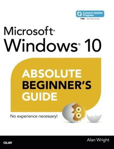 Windows 10 Absolute Beginner's Guide(Paperback)-cover