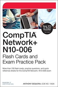 CompTIA Network+ N10-006 Flash Cards and Exam Practice Pack(Paperback)-cover