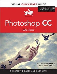 Photoshop CC: Visual QuickStart Guide(Paperback)-cover