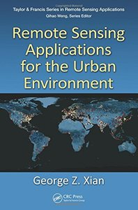 Remote Sensing Applications for the Urban Environment(Hardcover)-cover