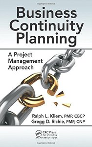 Business Continuity Planning: A Project Management Approach-cover
