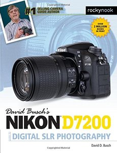 David Busch's Nikon D7200 Guide to Digital SLR Photography-cover