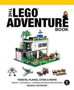 The LEGO Adventure Book, Vol. 3: Robots, Planes, Cities & More! Hardcover-cover