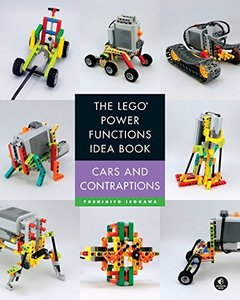 The LEGO Power Functions Idea Book, Vol. 2: Car and Contraptions(Paperback)-cover