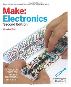 Make: Electronics: Learning Through Discovery, 2/e (Paperback)-cover