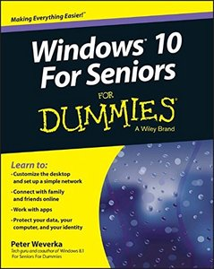 Windows 10 For Seniors For Dummies (Paperback)-cover