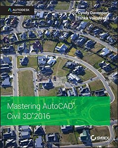 Mastering AutoCAD Civil 3D 2016: Autodesk Official Press(Paperback)-cover