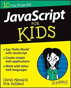JavaScript For Kids For Dummies (For Dummies (Computers)) Paperback-cover