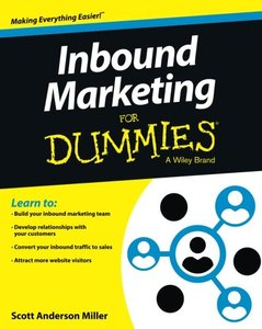 Inbound Marketing For Dummies (Paperback)-cover