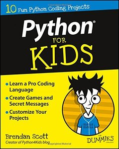 Python For Kids For Dummies (Paperback)-cover