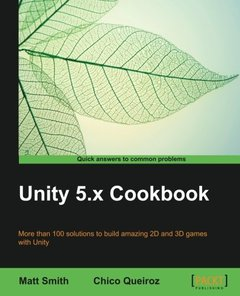 Unity 5.x Cookbook (Paperback)-cover