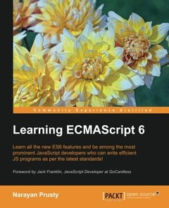 Learning ECMAScript 6(Paperback)-cover