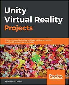 Unity Virtual Reality Projects (Paperback)-cover