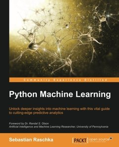 Python Machine Learning (Paperback)-cover