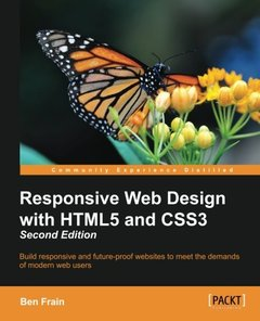 Responsive Web Design with HTML5 and CSS3,  2/e(Paperback)-cover
