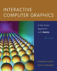 Interactive Computer Graphics: A Top-Down Approach with WebGL, 7/e (Hardcover)(美國原版)-cover