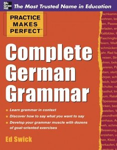 Practice Makes Perfect Complete German Grammar (Paperback)-cover