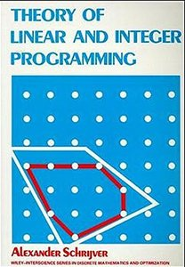 Theory of Linear and Integer Programming (Paperback)-cover