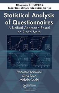 Statistical Analysis of Questionnaires: A Unified Approach Based on R and Stata (Hardcover)-cover