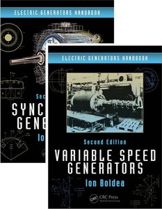 Electric Generators Handbook - Two Volume Set, 2/e(Hardcover)-cover