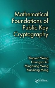Mathematical Foundations of Public Key Cryptography Hardcover-cover