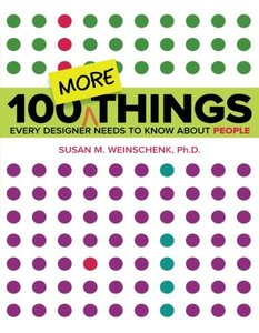 100 MORE Things Every Designer Needs to Know About People (Paperback)-cover