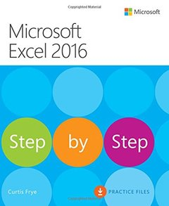 Microsoft Excel 2016 Step by Step(Paperback)-cover
