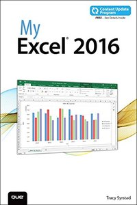 My Excel 2016(Paperback)-cover
