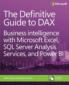 The Definitive Guide to DAX: Business intelligence with Microsoft Excel, SQL Server Analysis Services, and Power BI (Paperback)-cover