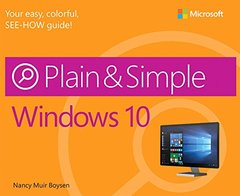 Windows 10 Plain & Simple (Paperback)-cover