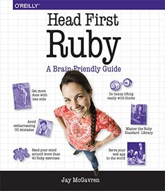 Head First Ruby (Paperback)-cover