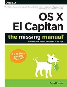 OS X El Capitan: The Missing Manual (Paperback)-cover